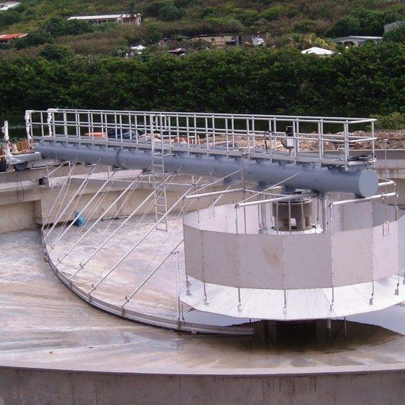 clarifier - waste water treatment - Hubert