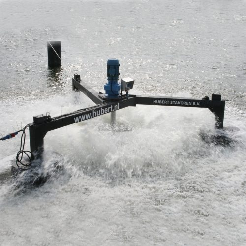 surface aerator - waste water treatment - Hubert
