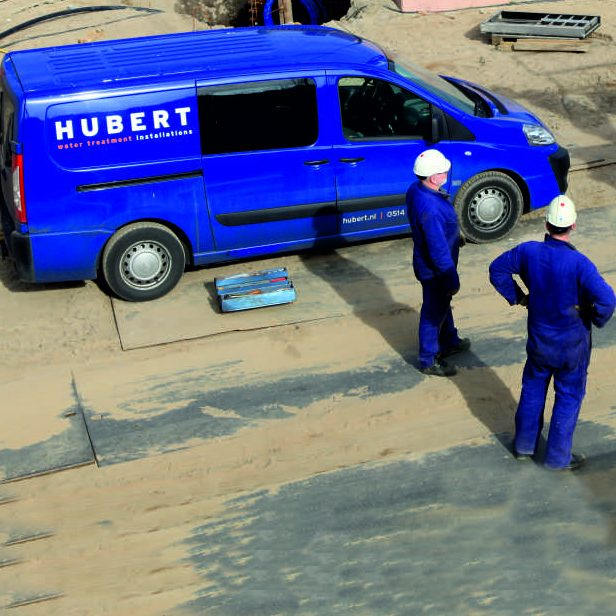 Hubert assistance on site