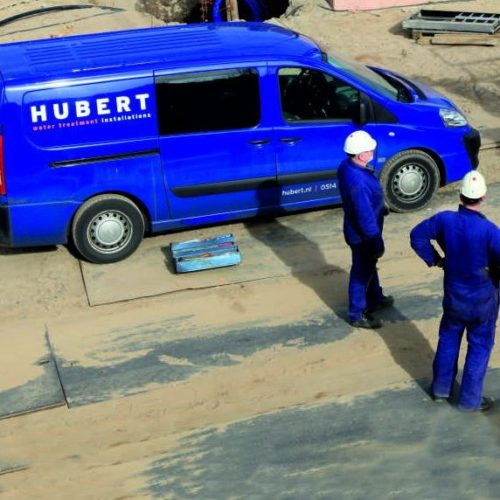 Hubert assistance on site