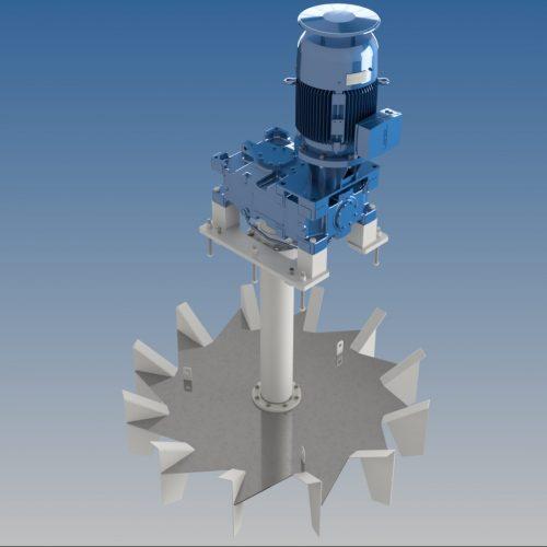 aerator - Hubert - waste water treatment