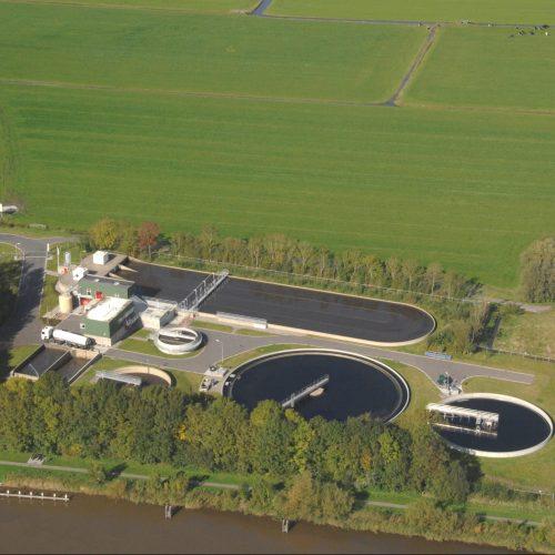 thickener - waste water treatment - Hubert