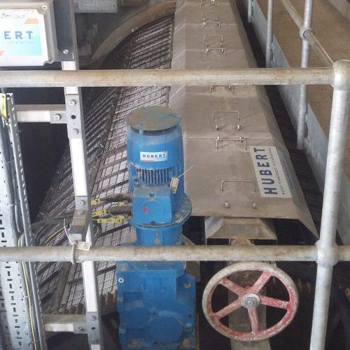 micro screen - waste water treatment - Hubert