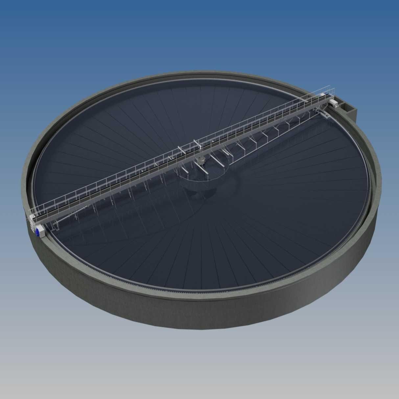 clarifier - Hubert - waste water treatment