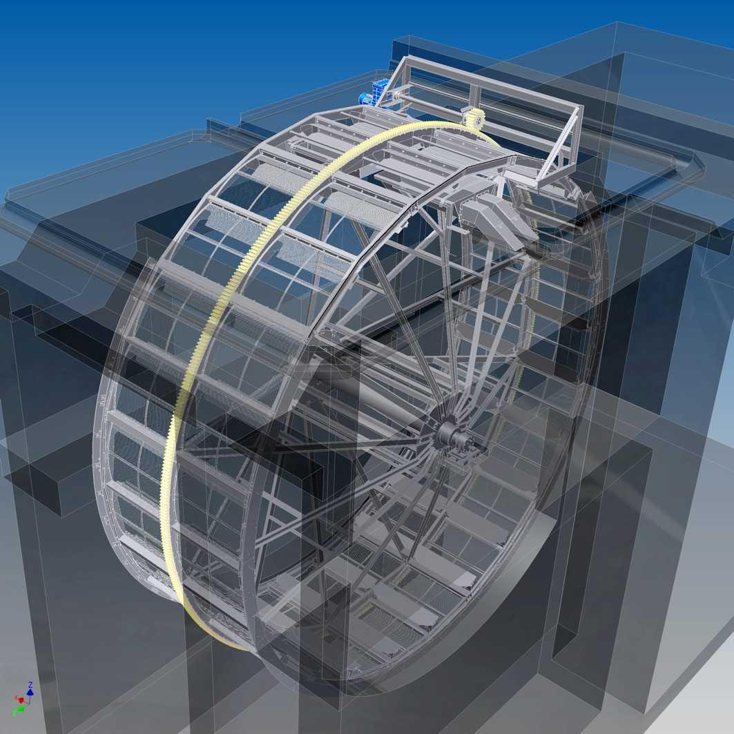 ubert drum screen vertical