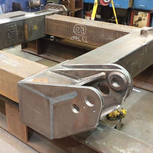 Hubert high spec steel assembly