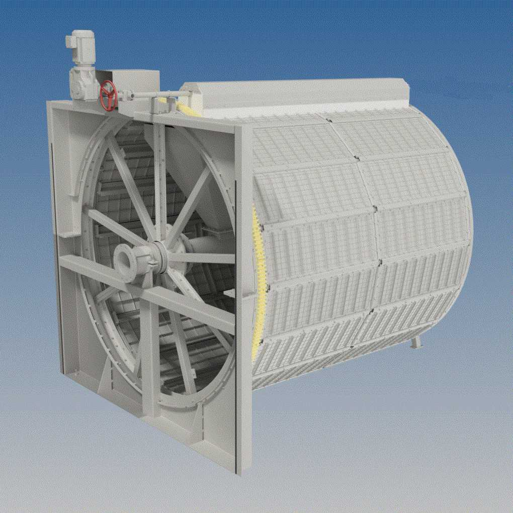 micro screen - Hubert - waste water treatment