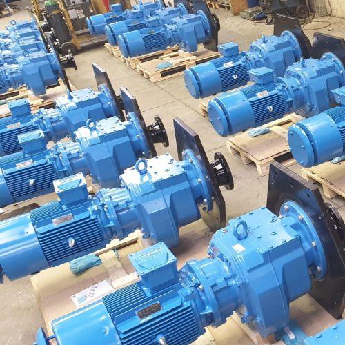 motors - service water treatment machinery - Hubert