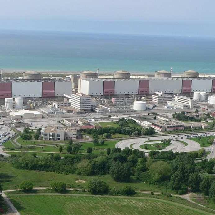 Hubert - renovation screening systems French nuclear power plants