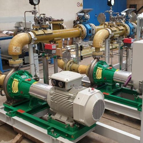 water intake system - piping and controls - Hubert