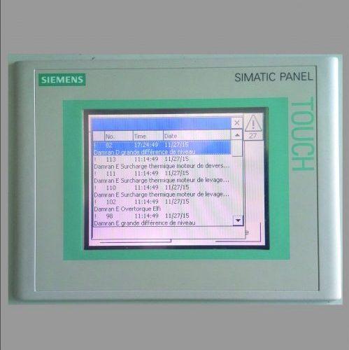 water intake system - E&I control panel Siemens - Hubert