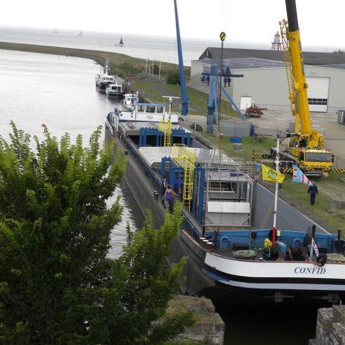 Hubert harbour facilities