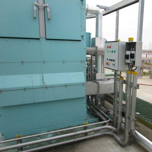 water intake system - local control box - Hubert