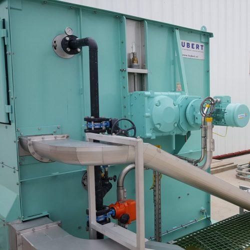 water intake system - spray water system - Hubert