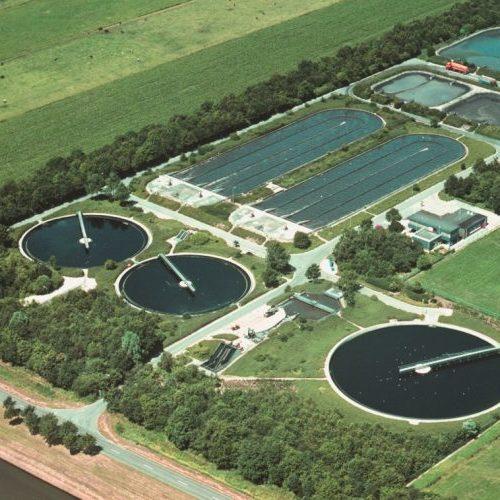 waste water treatment plant - Hubert