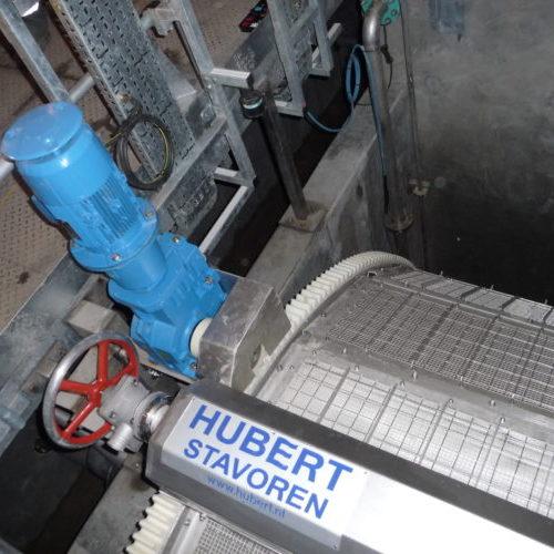 Hubert microscreen