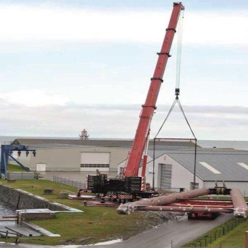 Hubert quay Stavoren loading-unloading