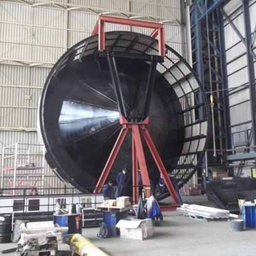 Drum Screen - Shell Pernis refurbishment - Hubert